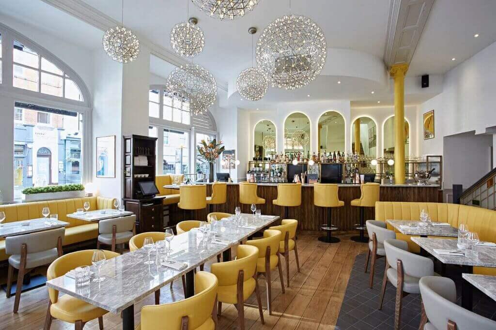 Interior Design for Restaurant Dickie Fitz
