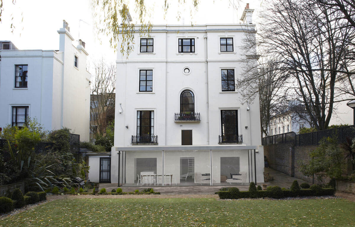 Listed Building Development in London