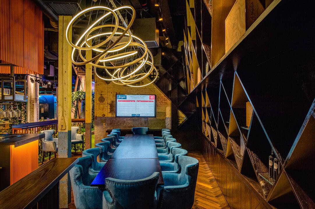 Swingers Interior Design