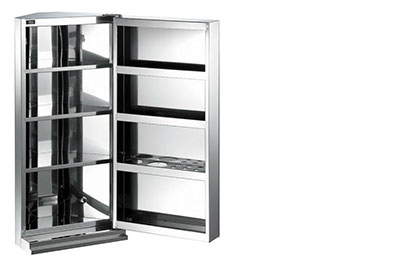 Spaced Metal Cabinet